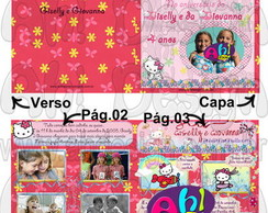 Convite - Hello Kitty Revista