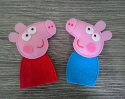 Kit de dedoches Peppa Pig
