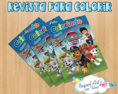 Revista De Colorir Patrulha Canina 1