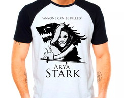 Camiseta Arya Stark Game Of Thrones