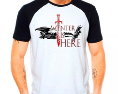 Camiseta Winter Stark Targaryen GOT