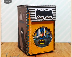 Mini mochilinha Batman e Super Man