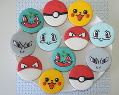 Biscoitos Decorados Pokemon I