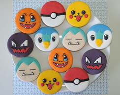 Biscoitos Decorados Pokemon II