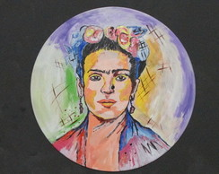 Disco decorativo - Frida Kahlo
