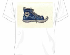 Camiseta All Star Converse Azul Jens