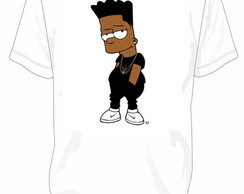 Camiseta Bart Simpson Black