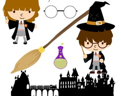 Kit Scrapbook Digital Harry Potter