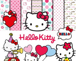 Kit Scrapbook Digital Hello Kitty
