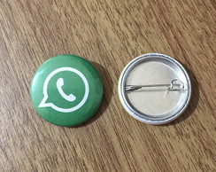 Botton Whatsapp - 2,5cm