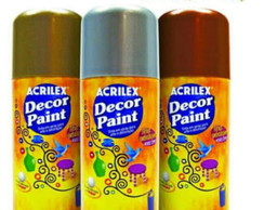 Tinta Spray Decor Paint Acrilex 150ml