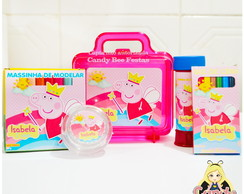 Kit Maleta Peppa Fada Princesa