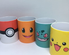Kit Caneca Pokemon