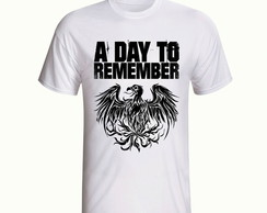 Camisa A Day To Remember Banda Rock