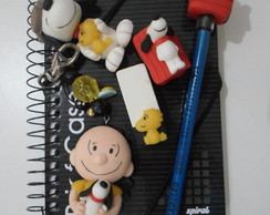 Kit escolar Turma do snoopy