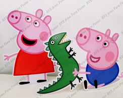 2 Displays de mesa Peppa Pig