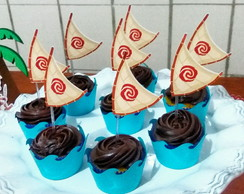 Wrapper Mini Cupcake + topper Moana