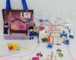 Kit Pintura + Eco Bag Festa Infantil