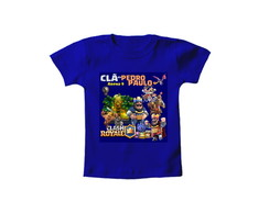 Camiseta OU Body INFANTIL Clash Royale