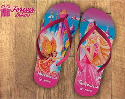 CHINELO PERSONALIZADO-BARBIE