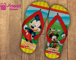 CHINELO PERSONALIZADO-MICKEY E MINNIE