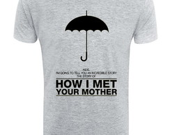 Camiseta seriado How i met your mother