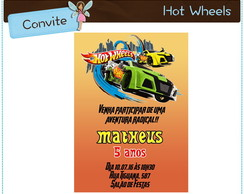 Hot Wheels | Convite digital