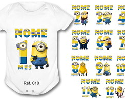 Kit 12 Body Mesversario Minions