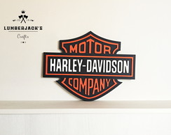 Placa decorativa Davidson