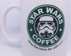 Caneca Star Wars Coffee Frase - Mod. 3