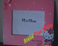 PORTA RETRATO 10X15 HELLO KITTY