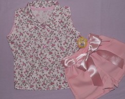 Conjunto Alice Short e Camisete