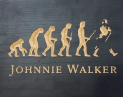 Quadro - Johnnie Walker Evolution
