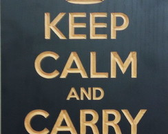 Quadro - Keep Calm