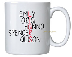 Caneca Series Pretty little liars