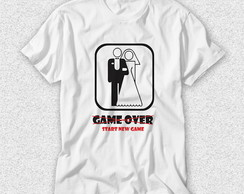 Camiseta Casamento - Start New Game