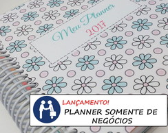 Planner Floral SOMENTE NEGÓCIOS PERS