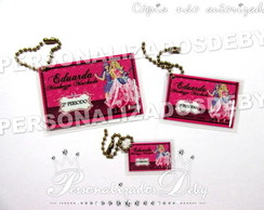 KIT 3 TAG BAG BARBIE POP STAR