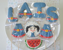 Biscoitos Decorados Palitos - Personagem