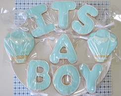 Biscoitos Decorados Palitos - It's a Boy
