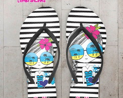 Chinelo Infantil Tema Pool Party