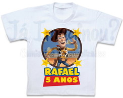 Camiseta Toy Story Woody