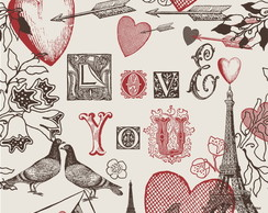 Papel de Parede Love You