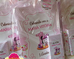 Kit Revista Colorir Baby Minnie