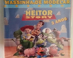 Massinha de modelar toy story