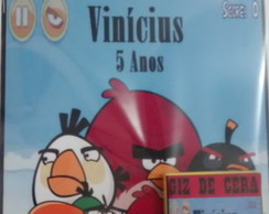 kit para colorir Angry birds