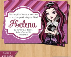 Convite - Ever After High