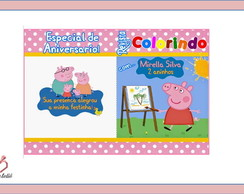 Mini kit de Colorir Peppa Pig