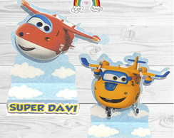 Porta Bis Duplo Super Wings