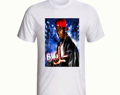Camiseta Big L Rapper Hip Hop Rap